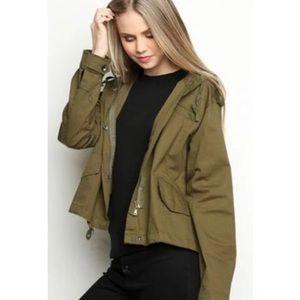 Brandy Melville hailey jacket in cotton